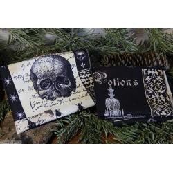 Nevermore : mouchoirs en tissus