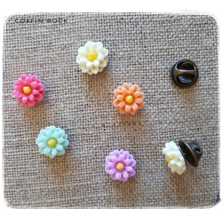 Pins fleurs