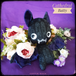 Cathedral Batty - bat plush