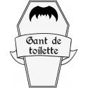 Gant de toilette cercueil