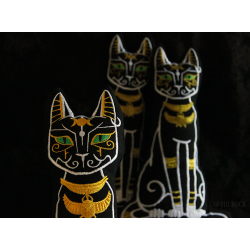 Bastet - egyptian cat cushion