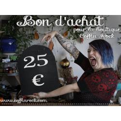 Bons d'achat - 15€