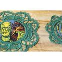 Frankenstein's Monster - Napperon en dentelle