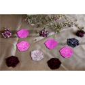 Rose sauvage - broches, couleurs au choix