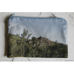 River border - zipper pouch