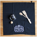 Poison Black kitchen Towel