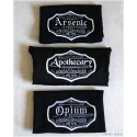 Opium Black kitchen Towel