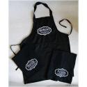 Apothecary black apron