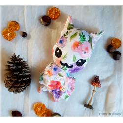 Sweet Flower Batty - peluche toute douce