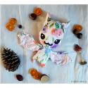 Sweet Flower Batty - peluche toute douce