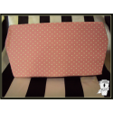coffin shaped cheque book holder