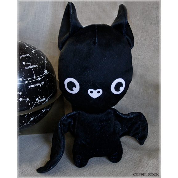 Darkness - bat plushy