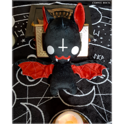Satanic Batty - bat plushy