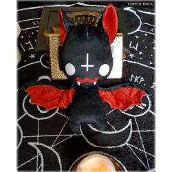 Satanic Batty - bat plushy