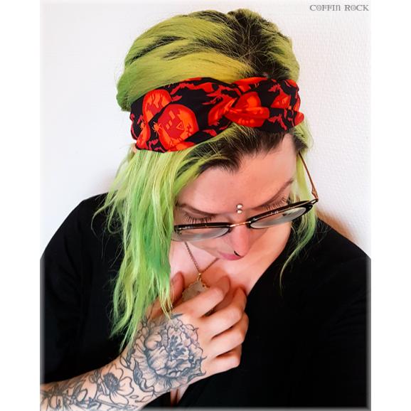 Headband citrouilles hantées