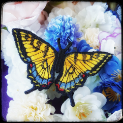 Eastern Tiger Swallowtail brooch