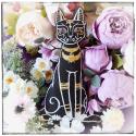 Bastet - Little egyptian cat cushion