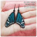 Boucles d'oreilles Monarque turquoise