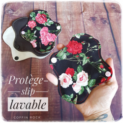 Roses panty liner
