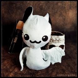 Ghostly Batty - bat plushy