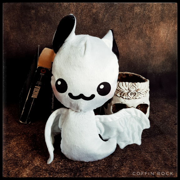 Ghostie Batty - peluche toute douce