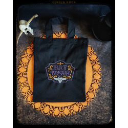 mini tote bag : Bat Breath