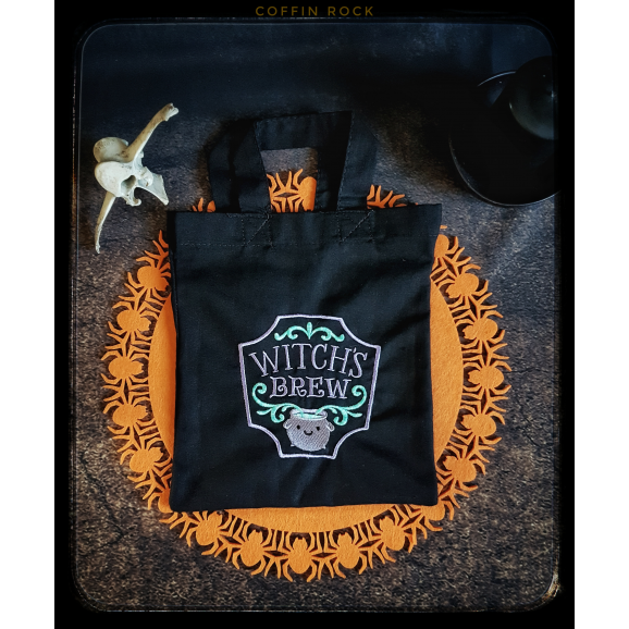 mini tote bag : Witches Brew