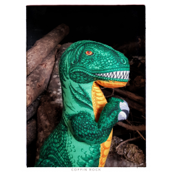 Peluche T-Rex géante
