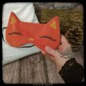 masque de sommeil renard