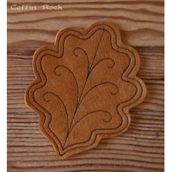 oak leave coaster