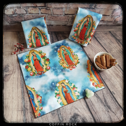 Virgin Mary cotton handkerchief