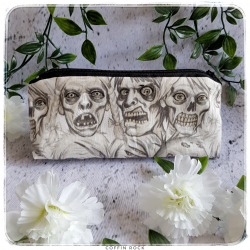 zombies pencil case
