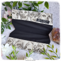 zombies coffin shaped cheque book holder