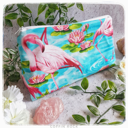 Trousse flamants roses