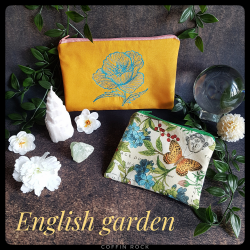 english garden Clutch bag