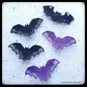 lace bat brooch