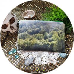 Lozere's forest - zipper pouch