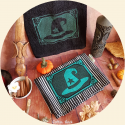 Witch's kitchen Towel