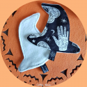Witch's Hat - Washable demakeup pad