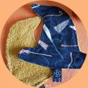 Chapeau de sorcière - lingettes démaquillantes lavables