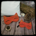 Foxy sleeping mask