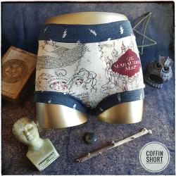 COMMANDE SPECIALE : CoffinShort pour Alexandra