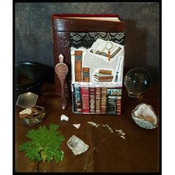 Carnet bibliothèque de sorcière