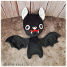 Draculette Batty - bat plushy