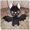 Draculette Batty - peluche toute douce