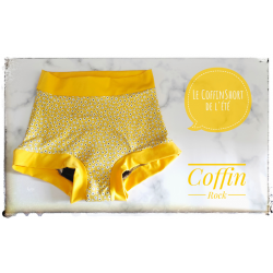 S - flowers - Coffinshort - period panty