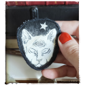 Occult brooch