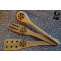 Pentacle kitchen spatula