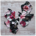 roses - Arabesque cercueil serviette lavable