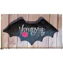 Vampyre ! coussin chauve-souris